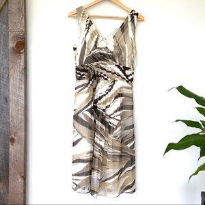 Banana Republic sleeveless midi dress